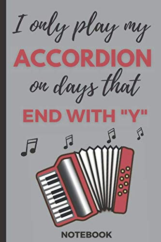 Notebook: Journal for Accordion Players /Small Size Notebook with 110 Blank Lined Pages  for Writing Down Notes, Ideas, and Lists