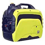 LYYAN Generador, pequeño generador de Gasolina silencioso para el hogar 220 V generador de inversor de Coche portátil para Exteriores de 2000 W