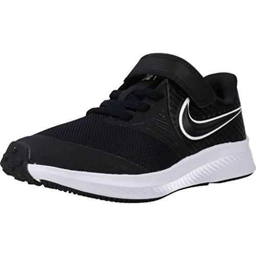 Nike Laufschuhe Jungen, Farbe Schwarz, Marke, Modell Laufschuhe Jungen Star Runner 2 (PSV) Schwarz
