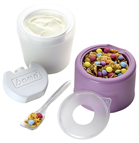 Bama Yo, Kit portayogurt, Multicolor, 9 cm