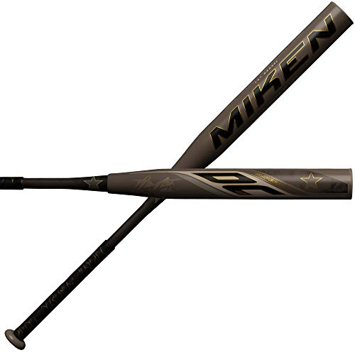 Miken 2019 DC-41 ASA Supermax Slowpitch Softball Bat, 14' barrel, 28 oz