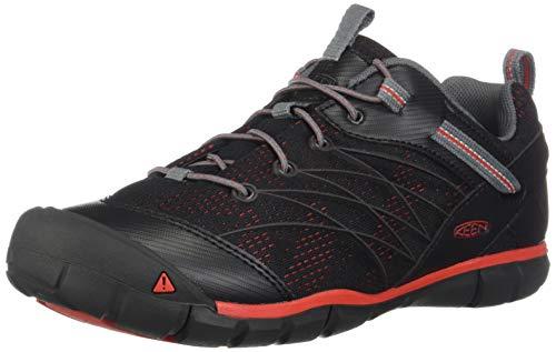 KEEN Chandler CNX Schuhe Jugend Raven/Fiery red Schuhgröße US 3 | EU 35 2020