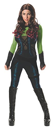 MARVEL Gamora (Guardians Of The Galaxy) - Adult Ladies Costume Lady: XS (UK: 6-8)