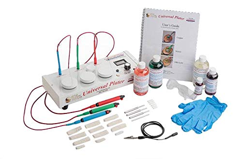 Universal Plater - Brush Plating System for Gold, Silver, Rose Gold, Nickel and Other Similar Electroplating Solutions