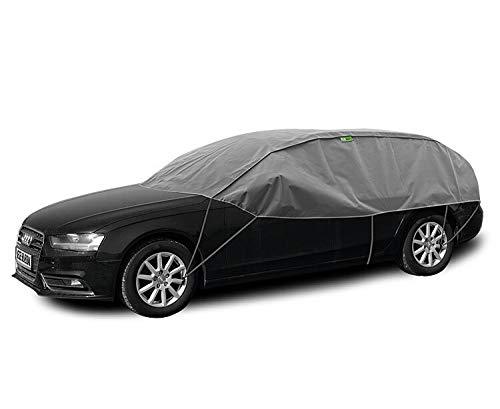 Kegel Blazusiak Halbgarage Winter L-XL kompatibel mit Skoda Octavia I, II, III Kombi UV Schutz Auto Abdeckung