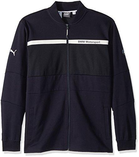 PUMA Mens BMW Motorsport Sweat Jacket Sweatshirt Team Blue Medium