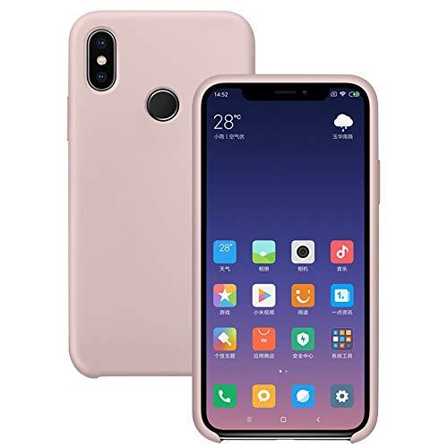 Pacyer® Funda Xiaomi Mi MAX 3 Ultra Suave TPU Gel de Silicona Case Protectora Suave Flexible teléfono Absorción de Impacto Elegante Carcasa para Xiaomi Mi MAX 3 (Rosa)