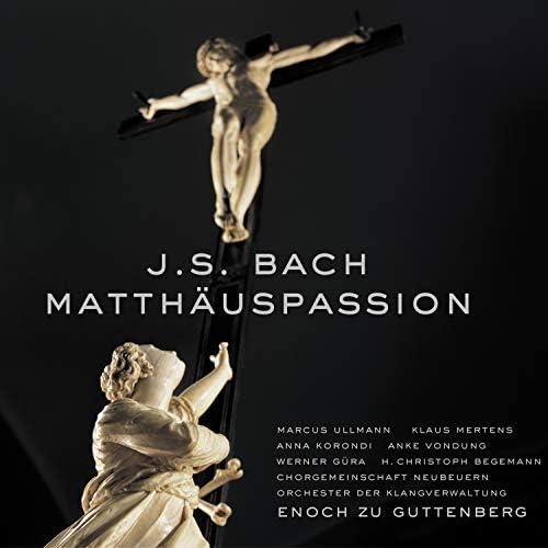 Enoch zu Guttenberg, KlangVerwaltung Orchestra, Neubeuern Choral Society, クラウス・メルテンス, Anna Korondi & Marcus Ullmann