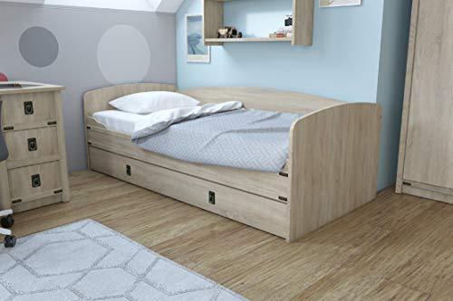 Imperial - Sofá cama nido con cama nido (90 x 200 cm)