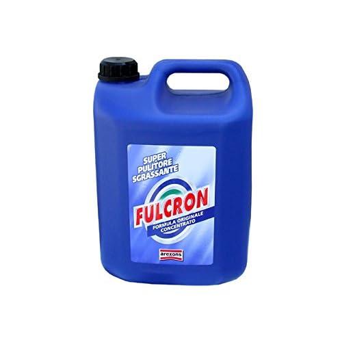 Fulcron Sgrassatore Super Sgrassatore Concentrato 5 l, spray sgassatore tutte le superfici igienizzante spray ogni tipo di sporco, pulizia profonda sgrassatore professionale universale, profumato