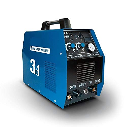 Welder- Plasma Cutter CT520D 50AMP 220V IGBT Multi-Function Inverter Welder...
