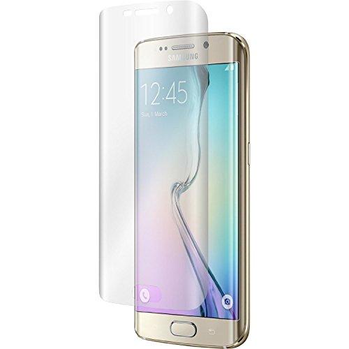 myTech® Samsung Galaxy S6 Edge Schutzglas Hartglas Panzerglas Folie Echtglas Glas 100prozent Bildschirmschutz Schutzfolie Panzerfolie Bildschirmschutzfolie Premium 0,3mm Tempered Glass Screen Protector