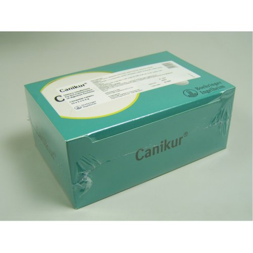 Canikur Anti Diarrhoeal Tablets for Dogs (Quantity: One Box of 96 Tablets)