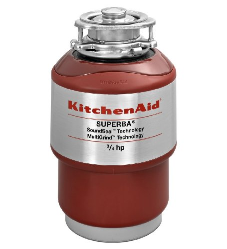 Our #5 Pick is the KitchenAid Continuous Feed Garbage Disposal