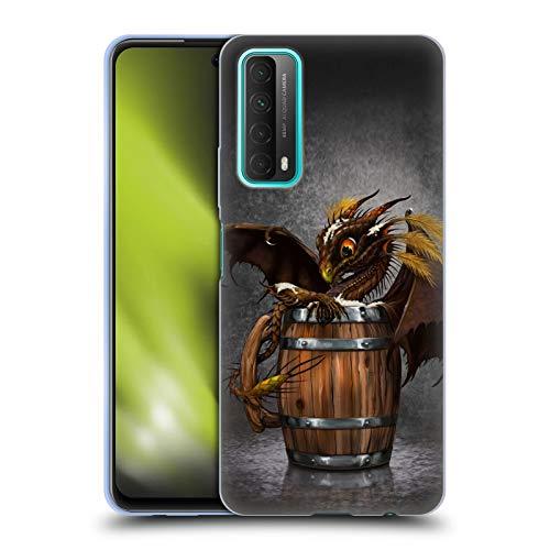 Head Case Designs Licenciado Oficialmente Stanley Morrison Taza de Cerveza de Cebada en Barril Dragones Carcasa de Gel de Silicona Compatible con Huawei P Smart (2021)