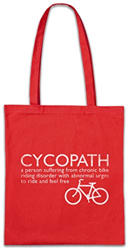 Urban Backwoods Cycopath Hipster Bag Beutel Stofftasche Einkaufstasche