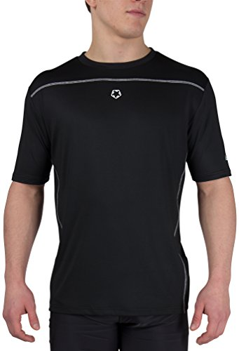 Gregster Herren Sportshirt, kurzarm Trikot, schnelltrocknendes Fitness T-Shirt atmungsaktiv