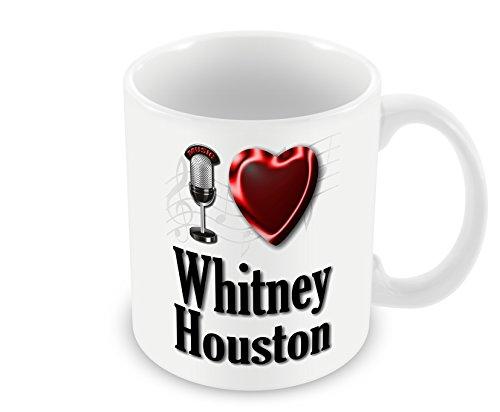 Chalkhill Printing Company CP PopFemale_012 Pop Artiest Mok (Vrouwelijke) Ik hou van Whitney Houston