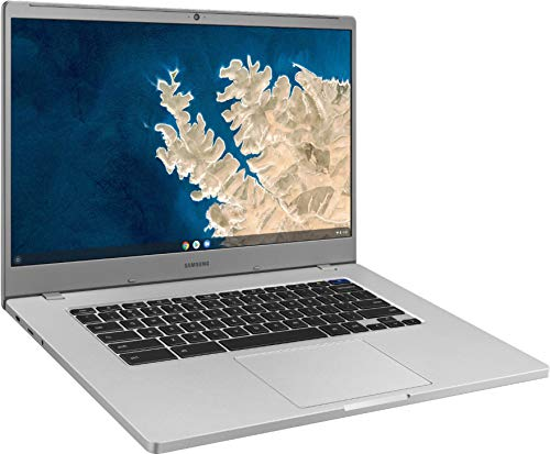 2021 Samsung Chromebook 15.6 Inch Laptop| FHD 1080P Display| Intel Celeron N4000 up to 2.6 GHz| 4GB RAM| 128GB eMMC| Bluetooth| Chrome OS + NexiGo 128GB MicroSD Card Bundle