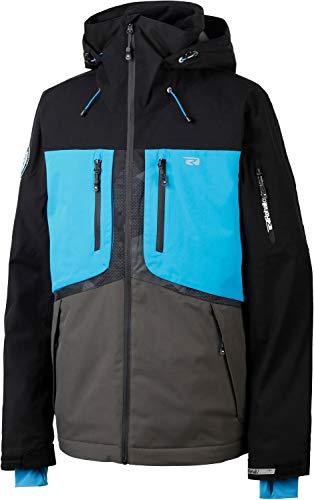 Rehall Herren Skijacke Halox Jacket Ultra Blue blau/grau/schwarz - M