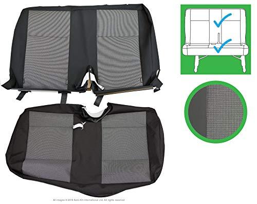 INKA Austin - Fundas de asiento delantero y trasero para VolksWagen Transporter T6, T5.1 Panel Van y Kombi