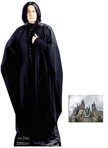 BundleZ-4-FanZ Fan Packs Professor Severus Snape von Harry Potter Lebensgrosse Pappfiguren/Stehplatzinhaber/Aufsteller/Standup Alan Rickman - Includes 8X10 (25X20Cm) Star Photo