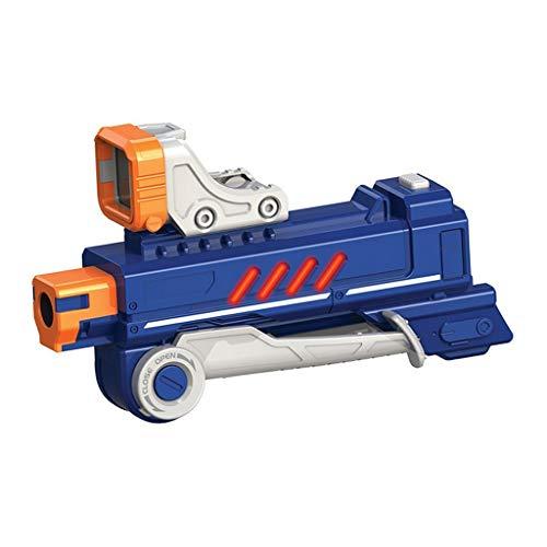 Silverlit Lazer M.A.D Laser Game - Módulo Sharpshooting (1 Booster (+30M de Alcance) + Visor + Bipie - Juguete Compatible con Blasters Lazer M.A.D