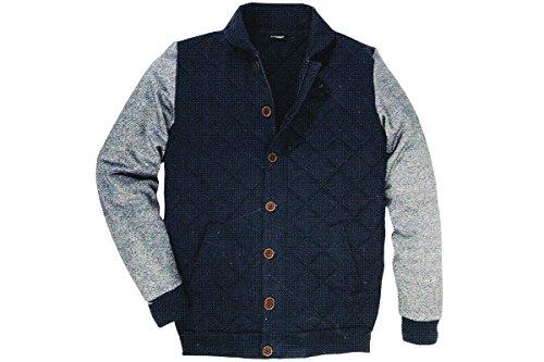 Livergy Herren Sweat Jacke College Jacke Übergangsjacke M L XL 48 50 52 54 56 58 (XL (56/58))