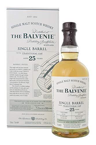 Balvenie 25 Jahre Single Barrel Whisky Single Malt Scotch Whisky, (1 x 0.7 l)