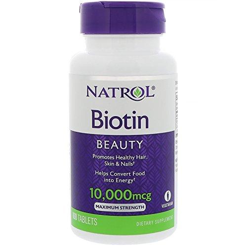 Biotin (10,000mcg) Maximum Strength 100 tabs
