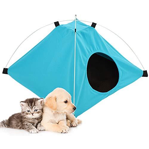 Xirfuni Casa Plegable para Cachorros, Tienda para Perros cómodamente portátil, Perro para Mascota