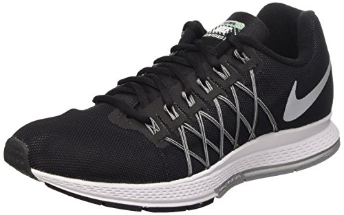 Nike Air Zoom Pegasus 32 Flash, Scarpe da Ginnastica Uomo, Nero (Black/Reflect Silver-Pure...