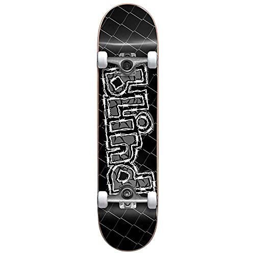 Blind OG Grundge Logo Factory Skateboard, 20,3 cm, Schwarz