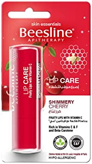 Beesline Lip Care Shimmery Cherry Pack of 4 Set