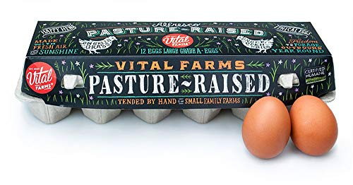 VITAL FARMS Large Grade A Eggs, 12 CT