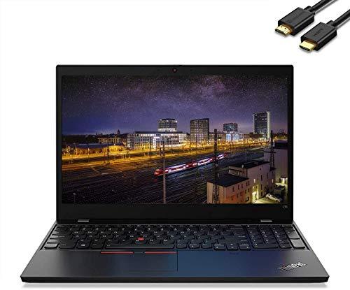 "Lenovo ThinkPad L15 15.6"" FHD (1920 x 1080) Business Laptop (Intel Quad-Core i5-10210U(Beat i7-8565U), 16GB DDR4 RAM, 1TB SSD) Wi-Fi 6, Type-C, HDMI, Webcam, Windows 10 Pro + IST Computers HDMI Cable"