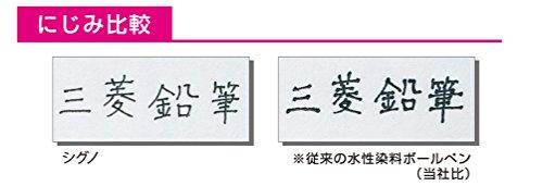 三菱鉛筆ゲルボールペン替芯シグノRT0.38黒10本UMR83.24