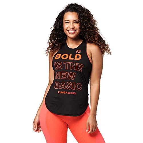Zumba Negro Gimnasio Camisetas Tirantes Mujer Suelta Fitness Entrenamiento Deportivo Top Tank Tops, Black to Basic, Small Womens