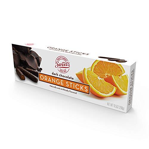 Sweets Dark Chocolate Orange Sticks, 10.5oz Box
