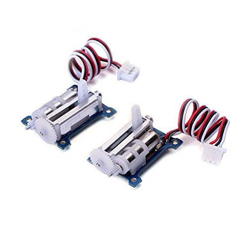 FLASH HOBBY 1 Pair Servo Micro Analog 1.5g GS1502 Loading Two Linear Servo