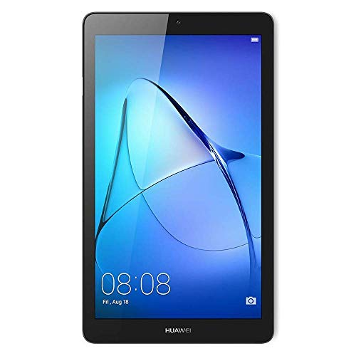 Huawei Mediapad T3 7, Tableta de 7 pulgadas IPS, con WiFi, Procesador quad-core MT8127, 1 GB RAM, 8 GB ROM, color Gris (Space Grey)