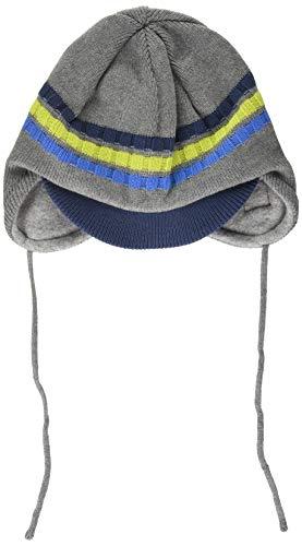 maximo Jungen Schildmütze mit Band Beanie-Mütze, mittelgraumel./Planet, 51