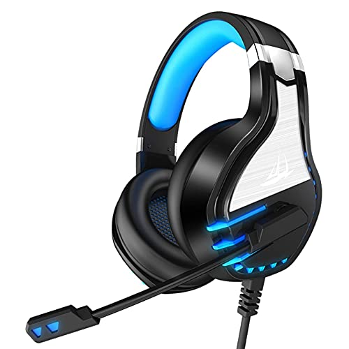 CZYNB Headphones Computer Gaming Headset Headset Gaming Headset with Microphone with Microphone 7.1-Channel Vibration Foldable Gaming