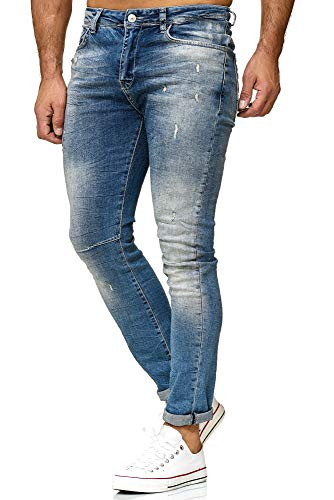 Red Bridge heren jeans broek Slim-Fit Ripped Redemption