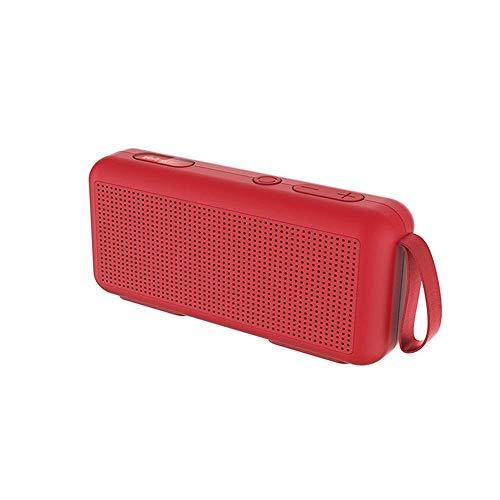 Gymqian Botón Portátil Wireless Bluetooth 5.0 Altavoz, con 3W Hd Sound And Altavoz, Tiempo de Reproducción de 10H, Función de Radio Fm Incorporada, Modos de Reproducción Múltiples,