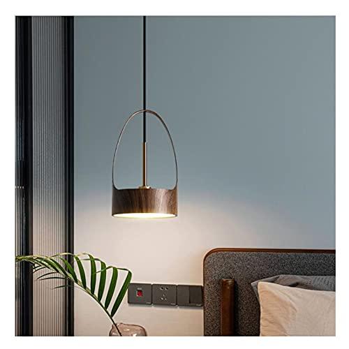 Lámpara Colgante LED Moderna Lampara Araña Cuerpo De Lámpara De Hierro Altura Ajustable Iluminación Colgante De Techo Luces Colgantes para Isla De Cocina 6W Regulable