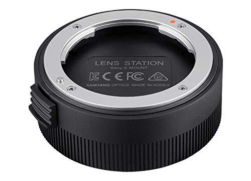 Samyang Lens Station für Sony E AF Objektive, ermöglicht System Upgrade, kalibriert Blende und Fokus automatisch, einfache Handhabung 7889 Schwarz