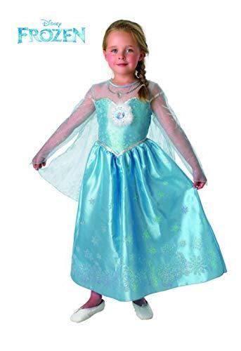 Frozen - Elsa Deluxe kostuum kinderen, L (Rubie 's Spain 888683-l)