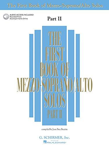 The First Book of Mezzo-Soprano/Alto Solos - Part II:...