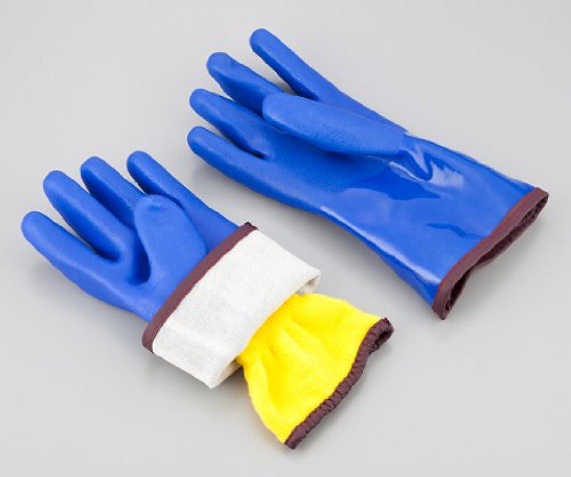 樫の木選択威するアズワン1-536-02アズセーフ防寒手袋9581XL